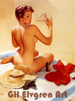 Gil Elvgren Art collection